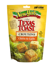 New York Bakery® Texas Toast Cheese & Garlic Croutons 5 oz. Bag