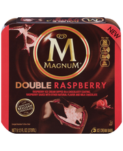 Magnum® Double Raspberry Ice Cream Bars 3 ct Box