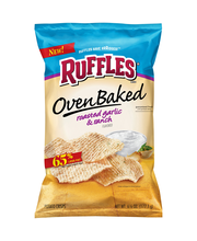 Ruffles® Oven Baked Roasted Garlic & Ranch Flavored Potato Ch...