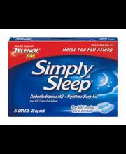 Simply Sleep™ Caplets Nighttime Sleep Aid 24 Ct Box