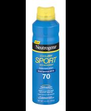 Neutrogena® CoolDry Sport SPF 70 Sunscreen Spray 5.5 oz. Aero...