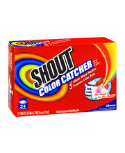 Shout® Color Catcher® In-Wash Dye Trapping Sheets 24 ct Box