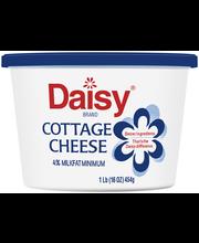 Daisy® Brand 4% Milkfat Small Curd Cottage Cheese 16 oz. Tub