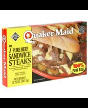 Pure Beef Sandwich Steaks