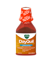 Vicks® DayQuil® Cold & Flu Mutli-Symptom Relief Liquid 8 fl. ...