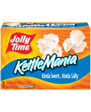 Jolly Time® KettleMania® Microwave Pop Corn 3-3 oz. Box