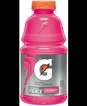 Gatorade Thirst Quencher Fierce Bold & Intense Strawberry 32 ...