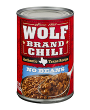 Wolf No Beans Chili 15 Oz Can