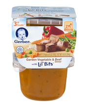 Gerber® 3rd Foods® Garden Vegetable & Beef Dinner with Lil' B...