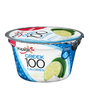 Yoplait® Greek 100 Protein Key Lime Fat Free Yogurt 5.3 oz. Cup