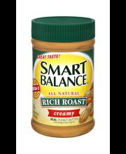 Smart Balance® Creamy Natural Rich Roast Peanut Butter 16 oz....