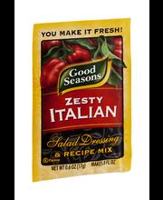 Good Seasons Zesty Italian Salad Dressing & Recipe Mix 0.6 oz...