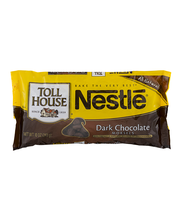 Nestle TOLL HOUSE Dark Chocolate Morsels 10 oz. Bag