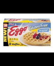 Kellogg's® Eggo® Gluten Free Original Waffles 9.8 oz. Box