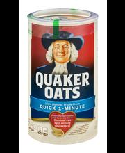 Quaker Oats Quick 1-Minute Oats 18 oz. Canister