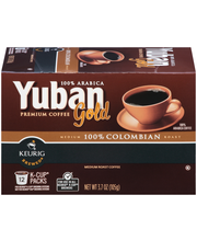 Yuban Gold 100% Colombian Coffee K-Cup® Pods 12 ct Box