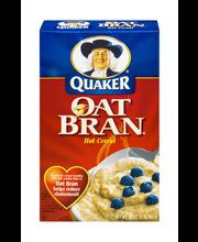 Quaker Hot Cereal Oat Bran 16 Oz Box