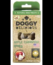 Dog Treats, Natural, Apple Cinnamon Bones