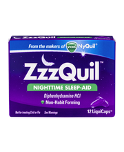 ZzzQuil Nighttime Sleep Aid LiquiCaps 12 ct (Pack of 12)