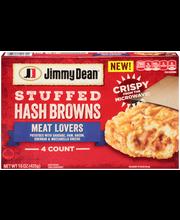 Jimmy Dean® Meat Lovers Stuffed Hash Browns 15 oz. Box