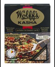 Wolff's Coarse Kasha 100% Pure Roasted Buckwheat