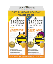 Zarbee's Naturals Children's Cough Syrup with Dark Honey Day ...