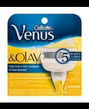 Gillette® Venus ComfortGlide with Olay Razor Refills 4 ct Pack