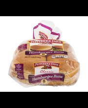 Pepperidge Farm® Bakery Classics Soft White Hamburger Buns 14.5 oz. Bag