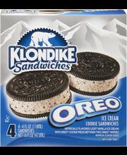 Klondike® Oreo® Ice Cream Sandwiches 4 ct Box