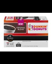 Dunkin' Donuts K-Cup Packs Medium Roast Coffee Original Blend...