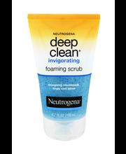 Neutrogena® Deep Clean® Invigorating Foaming Scrub 4.2 oz