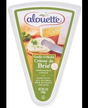 Alouette® Creme de Brie® Garlic & Herbs Delectable Brie Sprea...