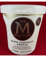 Magnum White Chocolate Vanilla Ice Cream, 14.8 fl oz