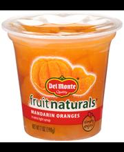 Del Monte® Fruit Naturals® Mandarin Oranges in Extra Light Sy...
