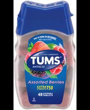 Tums® Assorted Berries Extra Strength 750 Antacid/Calcium Sup...