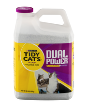 Purina Tidy Cats Clumping Litter Dual Power for Multiple Cats...