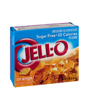 Jell-O® Sugar Free Orange Low Calorie Gelatin Dessert Mix 0.3...