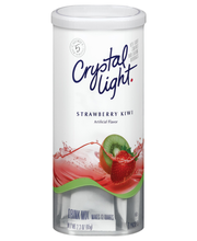 Crystal Light Strawberry Kiwi Drink Mix 6 ct Canister