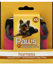 PAWS HAPPY LIFE HARNESS XSM
