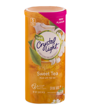 Crystal Light Sweet Tea Drink Mix 6 ct Canister