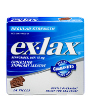 Ex-Lax® Regular Strength Chocolated Stimulant Laxative Pieces...