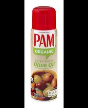 Pam Organic Olive Oil Cooking Spray 5 Oz Aerosol Can
