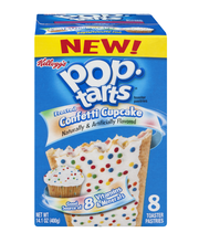 Pop-Tarts® Frosted Confetti Cupcake Toaster Pastries 8 ct Box