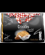 Wf Crnklcut Fries