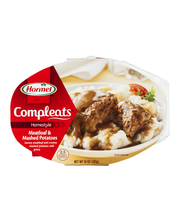 Hormel® Meatloaf & Gravy with Mashed Potatoes Compleats® 9 oz...