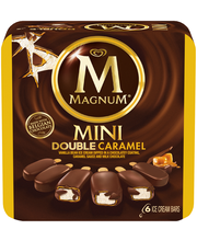 Magnum® Mini Double Caramel Ice Cream Bars 6 ct Box