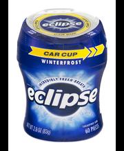 Eclipse Winterfrost Sugarfree Gum - 60 CT