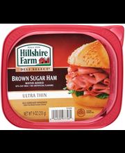 Hillshire Farm Deli Select® Ultra Thin Brown Sugar Ham 9 oz. Tub