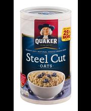 Quaker® Steel Cut Oats 30 oz. Canister