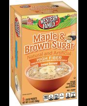 Wf Hf Mpl/Brn Sgr Inst Oatmeal